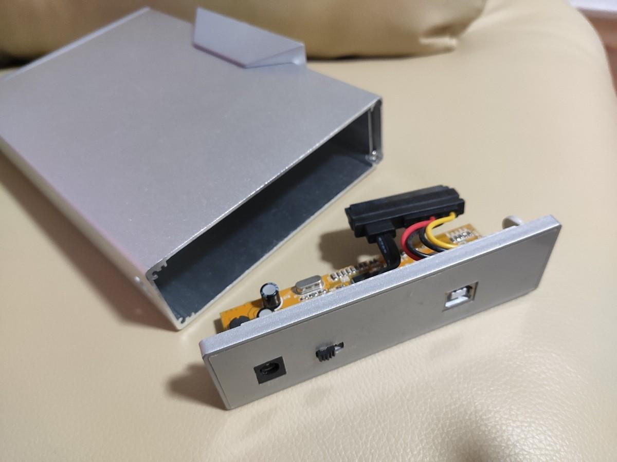 外付けハードディスクケース SATA 3.5インチ HDDケース