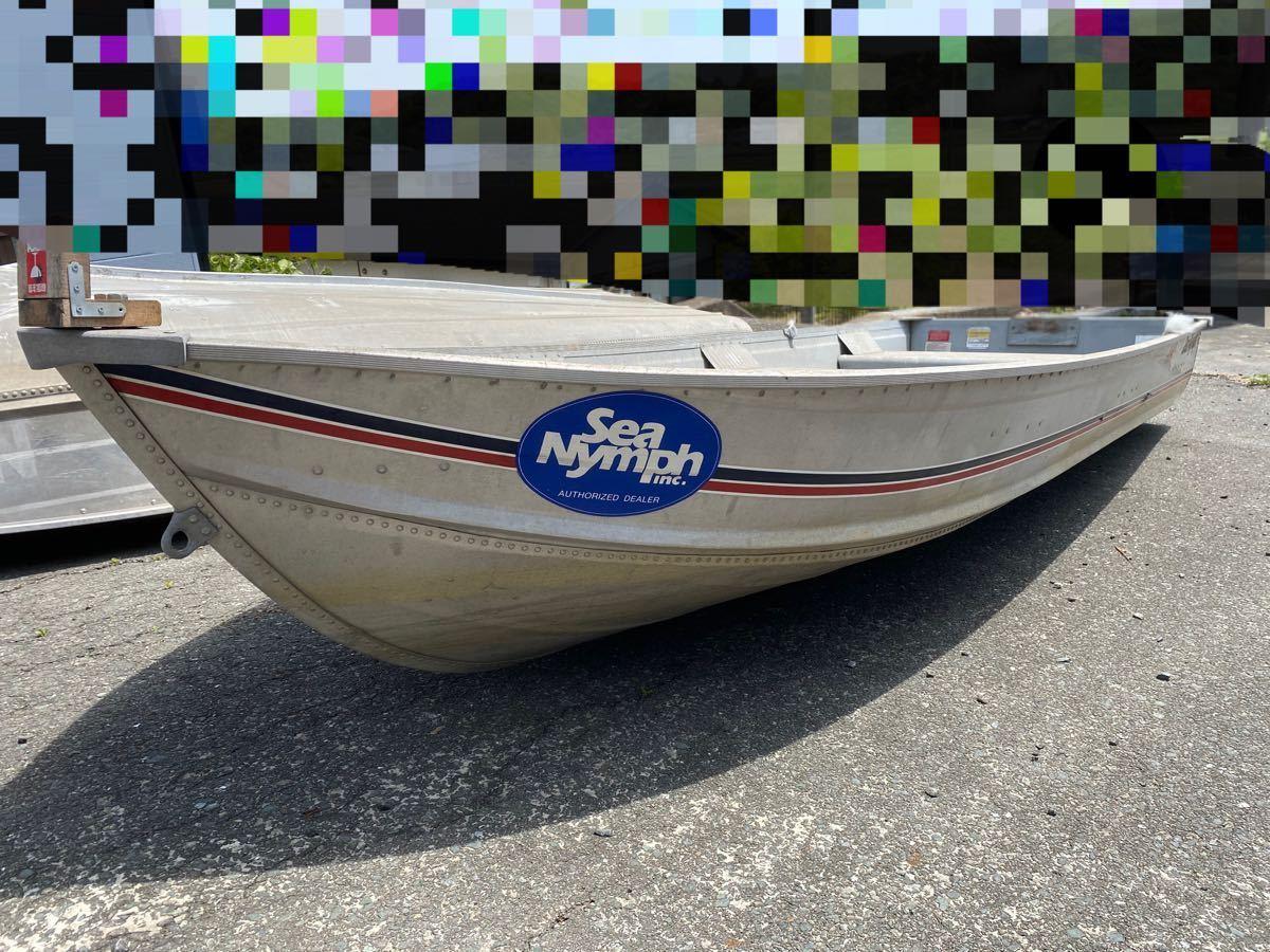 「売り切り シーニンフ 14K アルミボート 凹み無し」の画像1