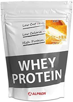 ALPRON(アルプロン) ホエイプロテイン100 チーズケーキ風味 (1kg / 約50食分) タンパク質 ダイエット 粉末ド_画像1
