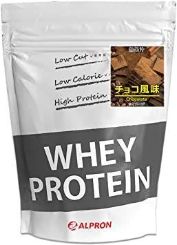 ALPRON(アルプロン) ホエイプロテイン100 チョコレート味 (1kg / 約50食分) タンパク質 ダイエット 粉末ドリ_画像1
