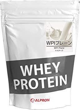ALPRON(アルプロン) WPIホエイプロテイン100 プレーン (1kg / 約50食分) タンパク質 ダイエット 粉末ドリ_画像1