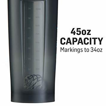 グレイホワイト ブレンダーボトル 【日本正規品】 ミキサー シェーカー ボトル Pro45 45オンス (1300ml) グレイ_画像8