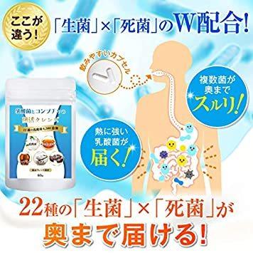 REQST BLC 乳酸菌とコンブチャの菌活クレンズ 健康美容2大ポリフェノール 6300億個の菌_画像7