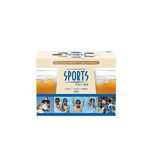スポーツ麦茶 1箱 美味しく水分補給をサポート (たっぷり30リットル分!) ノンカフェイン、厳選オーガニック原料、アミノ酸18_画像1