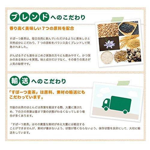 スポーツ麦茶 1箱 美味しく水分補給をサポート (たっぷり30リットル分!) ノンカフェイン、厳選オーガニック原料、アミノ酸18_画像5