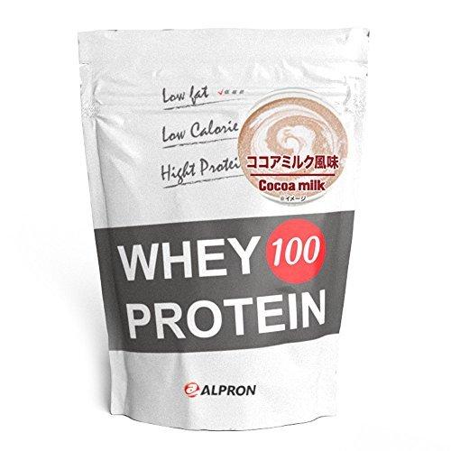 1kg ALPRON(アルプロン) ホエイプロテイン100 ココアミルク風味 (1kg / 約50食分) タンパク質 ダイエット_画像1