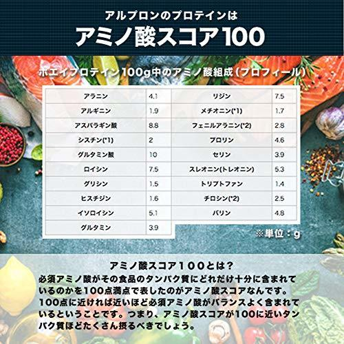 1kg ALPRON(アルプロン) ホエイプロテイン100 チョコバナナ風味 (1kg / 約50食分) タンパク質 ダイエット_画像6