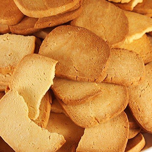 1kg 天然生活 【訳あり】固焼き☆豆乳おからクッキープレーン約100枚1kg_画像7