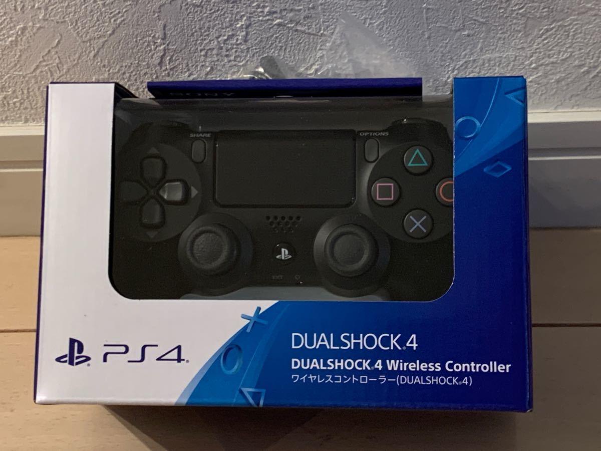 DUALSHOCK4 ジェット・ブラック デュアルショック4 ワイヤレスコントローラー PS4 SONY