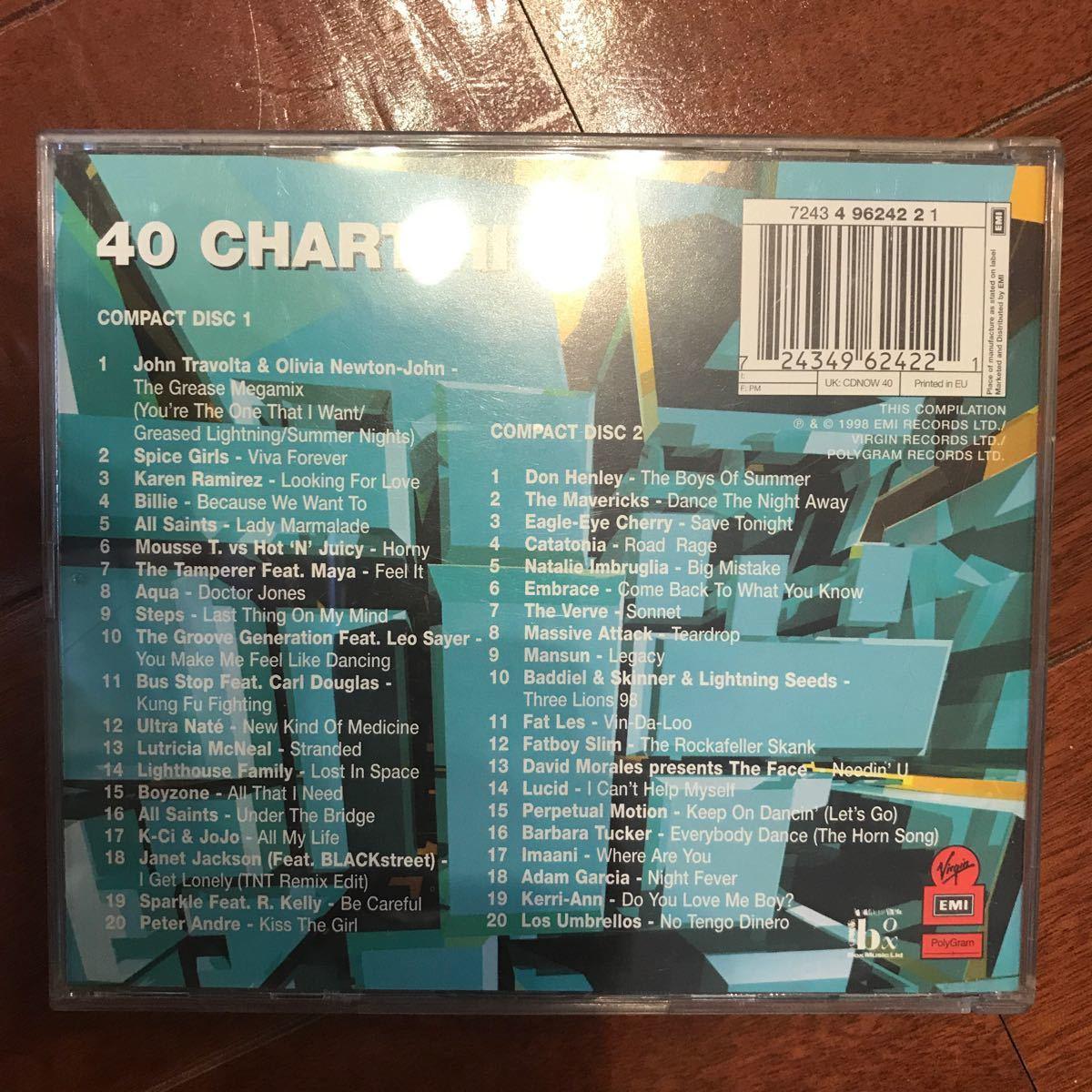 【輸入盤】 Now 40 (オムニバス)
