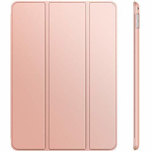ローズゴールド 7.9インチ JEDirect iPad mini 4 ケース レザー 三つ折スタンド オートスリープ機能 スマ_画像1