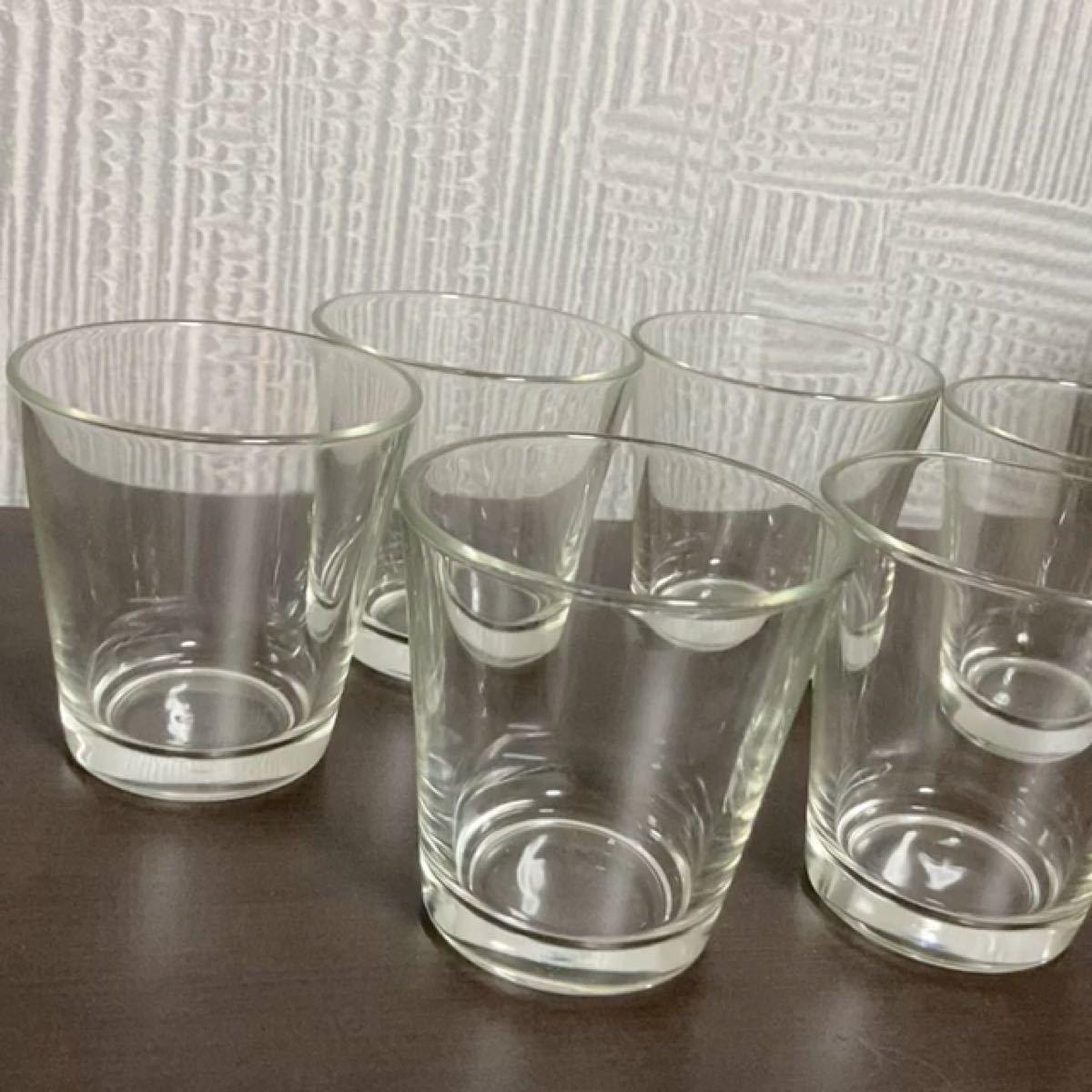グラス コップ ガラス 薄口 食器 カトラリー 北欧 雑貨 透明 昭和レトロ ガラスコップ