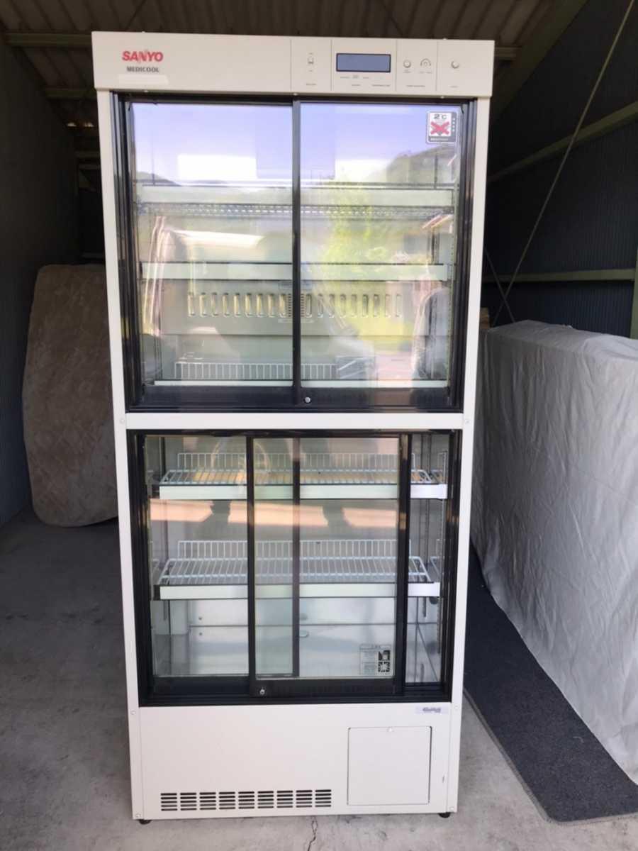配送地域限定 Sanyo サンヨー 薬用冷蔵ショーケース MPR-312D(CN) 340L 冷蔵ショーケース 冷蔵庫【sf-25】_画像1