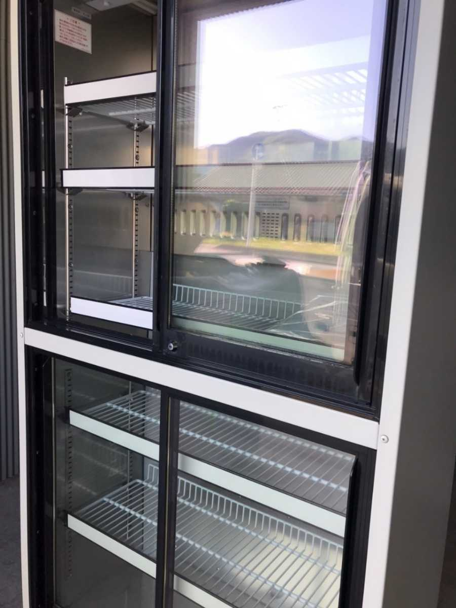 配送地域限定 Sanyo サンヨー 薬用冷蔵ショーケース MPR-312D(CN) 340L 冷蔵ショーケース 冷蔵庫【sf-25】_画像8