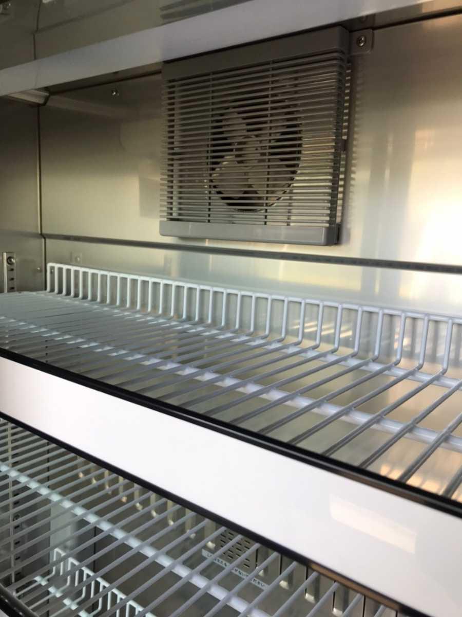 配送地域限定 Sanyo サンヨー 薬用冷蔵ショーケース MPR-312D(CN) 340L 冷蔵ショーケース 冷蔵庫【sf-25】_画像6