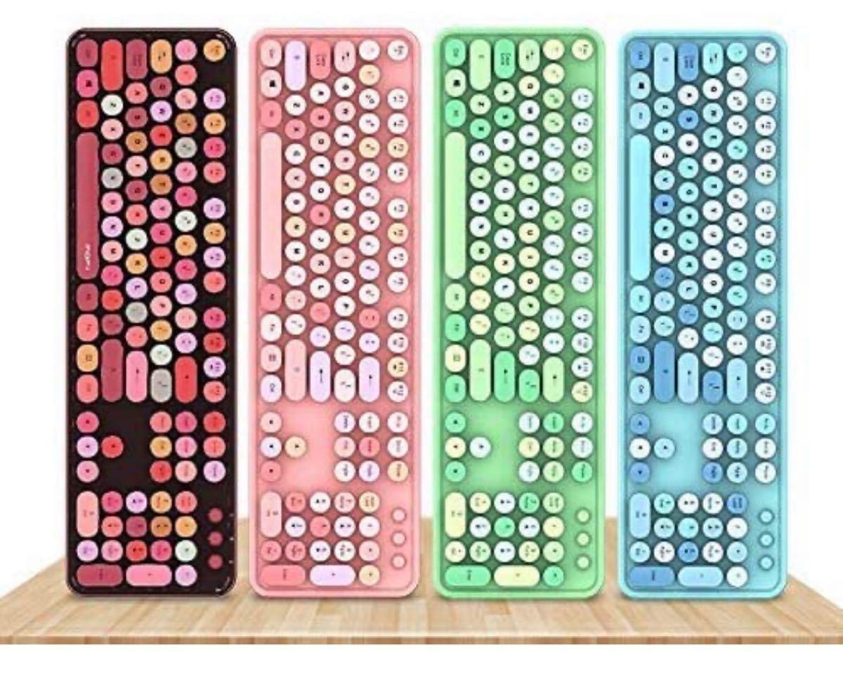 無線 ゲーミングキーボード 静音 2.4G ワイヤレスキーボード キーボード