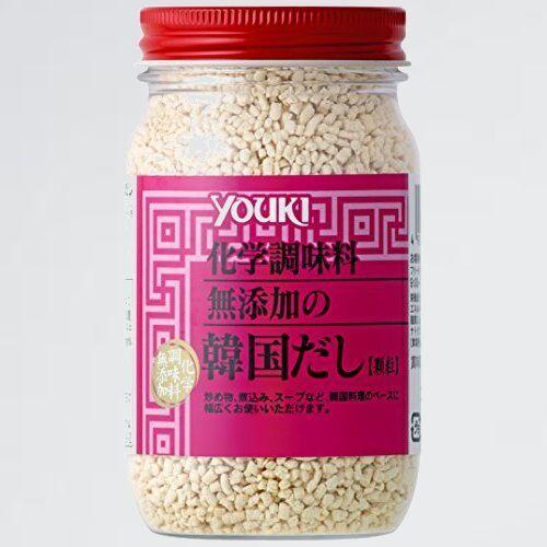 新品 未使用 化学調味料無添加の韓国だし ユウキ 5-5K 110g_画像1