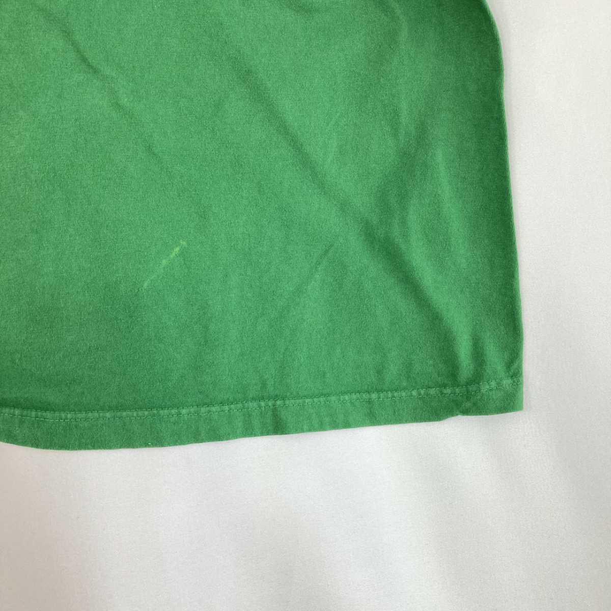 【人気カラー】ラルフローレン Tシャツ 刺繍ロゴ 緑 グリーン 古着 XXL_画像9