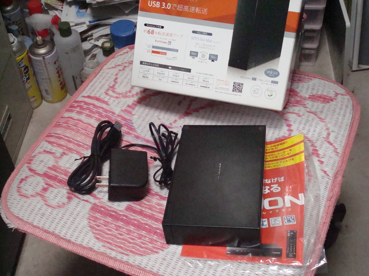 I・O DATA PC・TV用 USB3.0接続 2TB 外付けハードディスク HDCL-UT2.0KC 送料無料