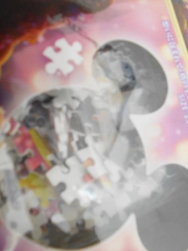 ホビー 未開封 パズル ディズニー ジグソーパズル 塔の上のラプンツェル ピュアホワイト 500ピース ※パッケージに痛みあり_画像4