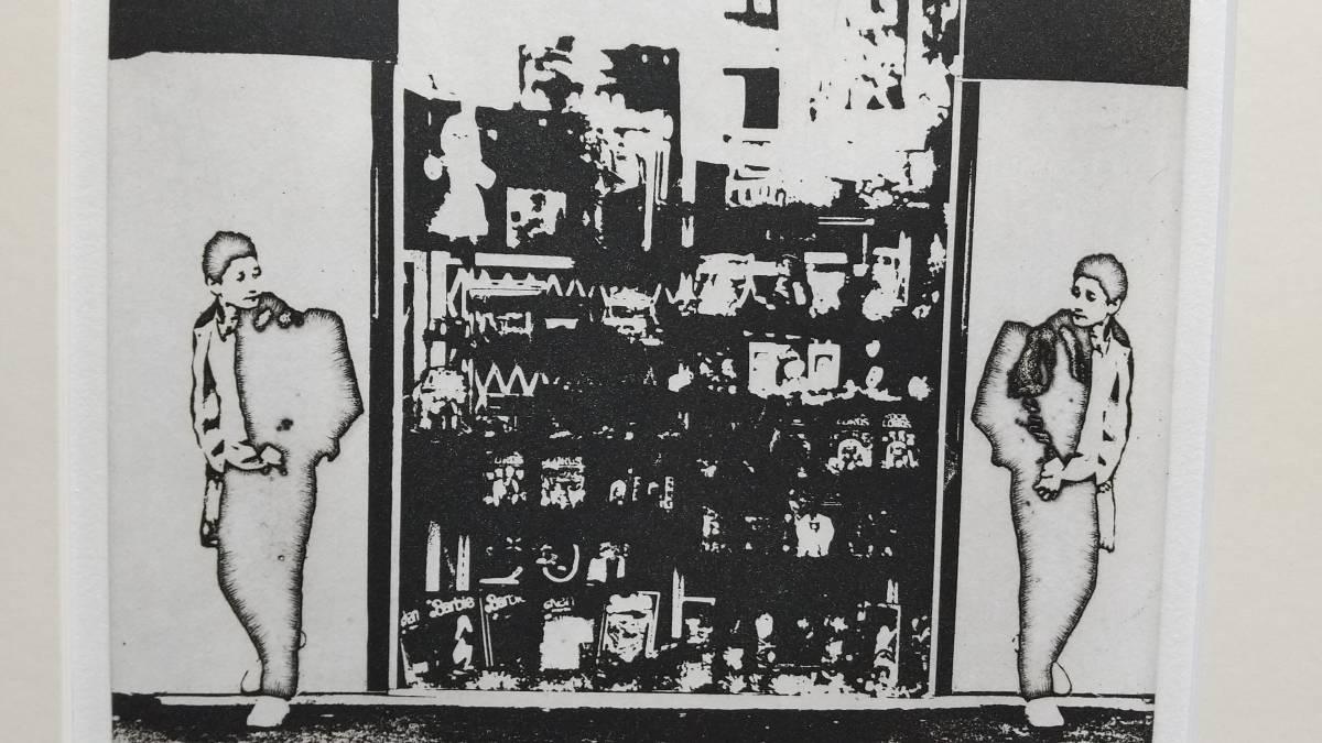 吉田克朗 『 想欧(フランス)Ⅵ 』 銅版画(フォトグラビュール) 1988年製作 直筆サイン入り 限定70部 額装 【真作保証】 もの派_画像6