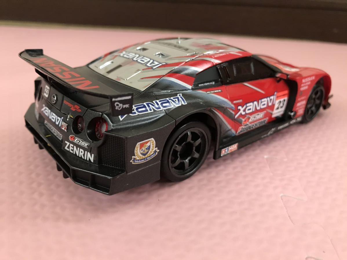 送料無料 京商 MINI-Z RACER NISSAN GT-R R35 xanavi レーシングカー ミニッツレーサー プロポ KYOSHO ニッサン ザナヴィ