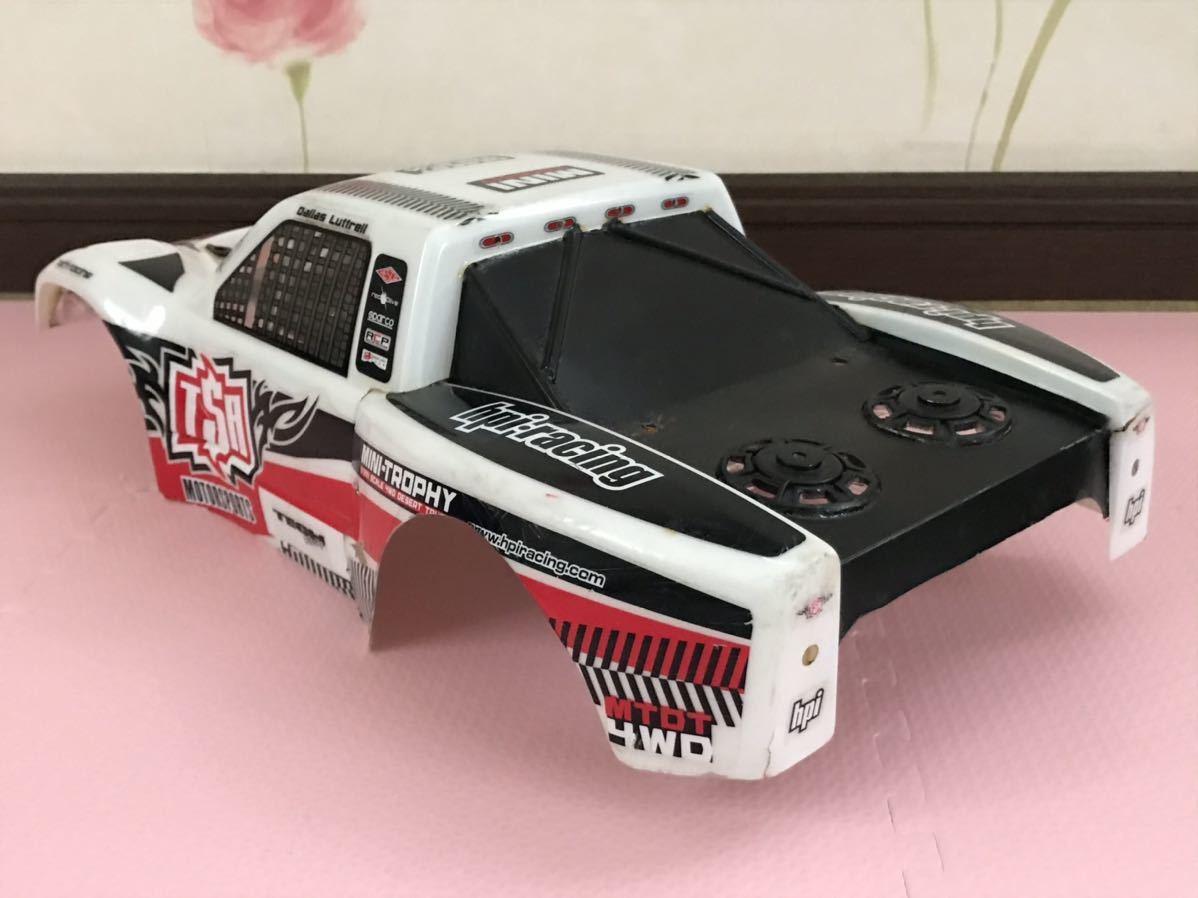 送料無料 ラジコン ボディ HPI ドライバー付き オフロードカー LED付き バギー