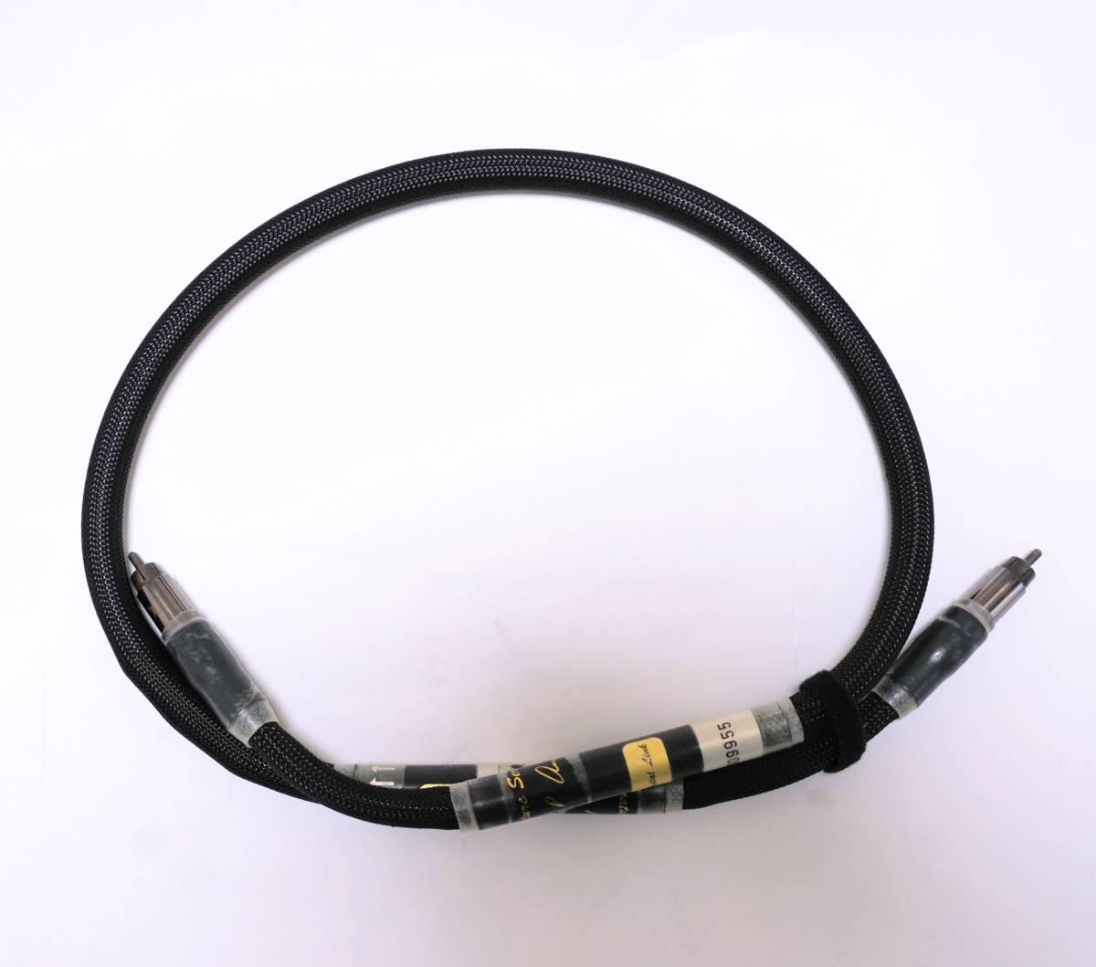 Purist Audio Design PAD Colossus REV.B Signature Series Digital Line RCAデジタルケーブル 1.0m 中古_画像5