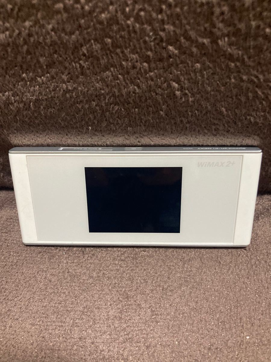 【美品】HUAWEI Speed Wi-Fi NEXT W05 ホワイト