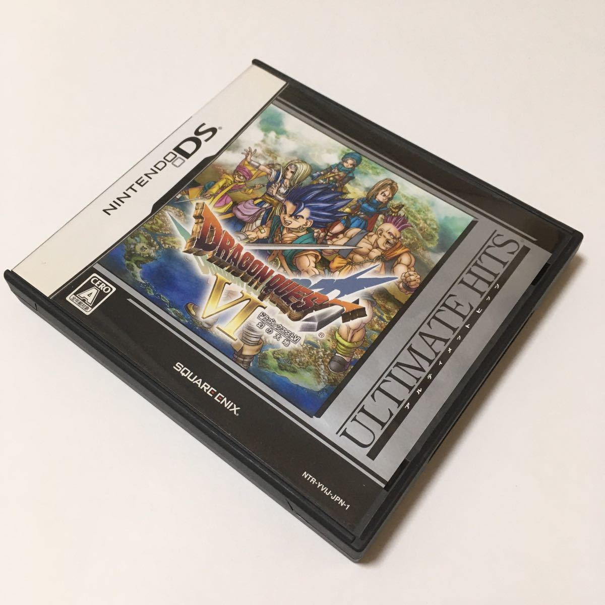 ニンテンドーDS ソフト ドラゴンクエスト6 幻の大地 動作確認済み ドラクエ6 カセット スーファミ レトロ ゲーム 任天堂