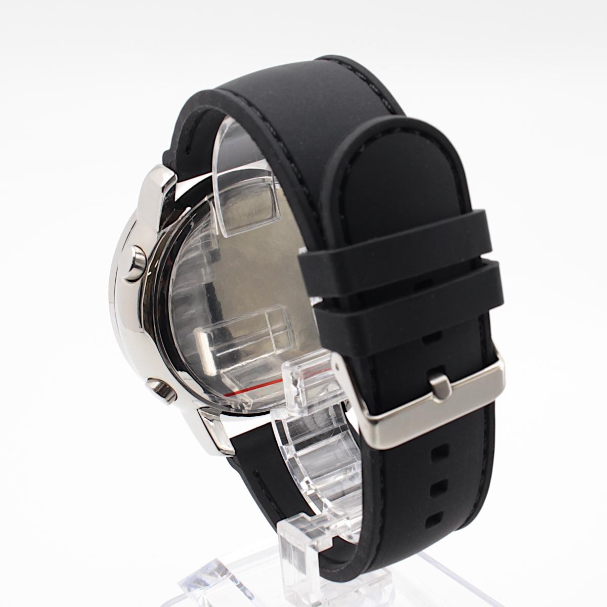 【1円開始】画面がでかくて見やすい!! 目に優しい腕時計! 今の腕時計が小さすぎて不満がある方必見!DWG WATCH メンズ 腕時計 / N0660_画像4