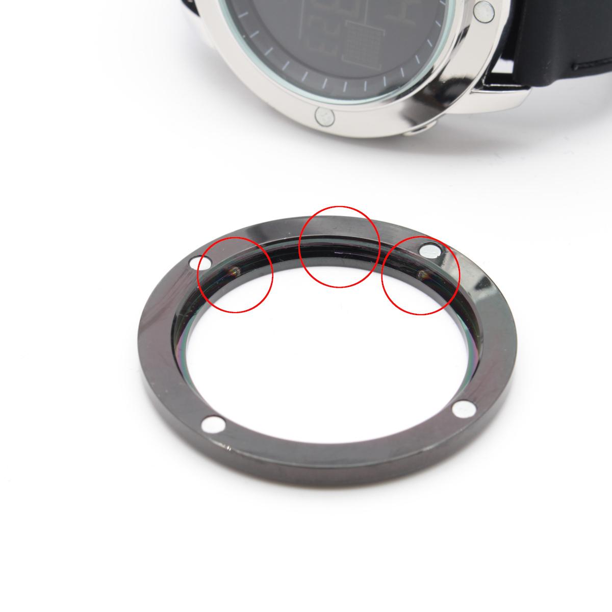 【1円開始】画面がでかくて見やすい!! 目に優しい腕時計! 今の腕時計が小さすぎて不満がある方必見!DWG WATCH メンズ 腕時計 / N0660_画像7