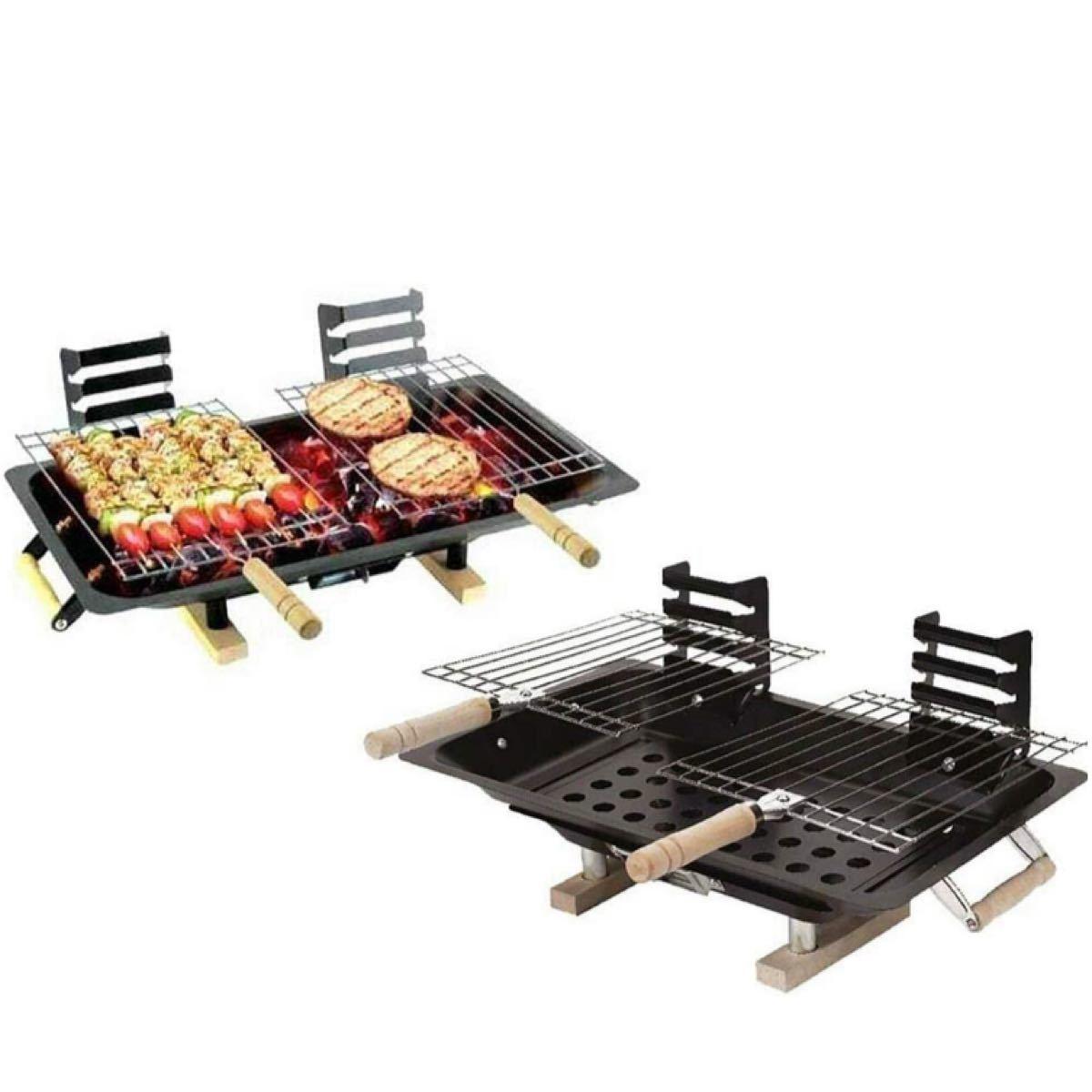 バーベキューコンロ 卓士テーブルコンロ  BBQコンロ 焚き火台