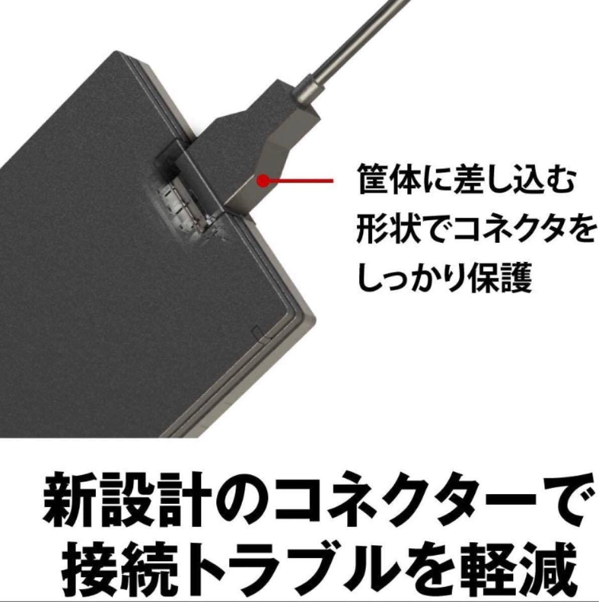 新品未開封 翌日発送! バッファロー外付けSSD 1TB SSD-PG1.0U3-B/NL web限定商品