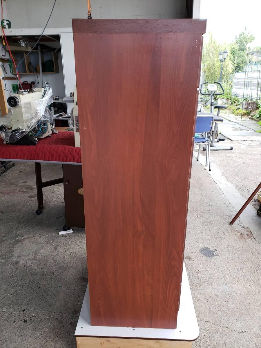 F-611 整理タンス 多引き出しチェストタンス☆小物収納箪笥、桐材無垢☆小物収納、木製桐箪笥、多引き出し、和室、チェスト、飾り台_画像3