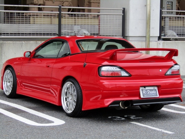 即決!S15改 シルビア ヴァリエッタ SR20ターボ(E/g載替) 5速MT 社外マフラー 車高調 レカロシート 改造多数_画像2