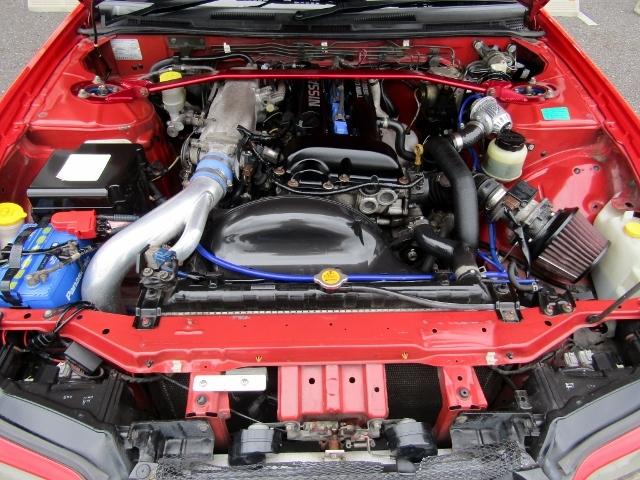 即決!S15改 シルビア ヴァリエッタ SR20ターボ(E/g載替) 5速MT 社外マフラー 車高調 レカロシート 改造多数_画像10