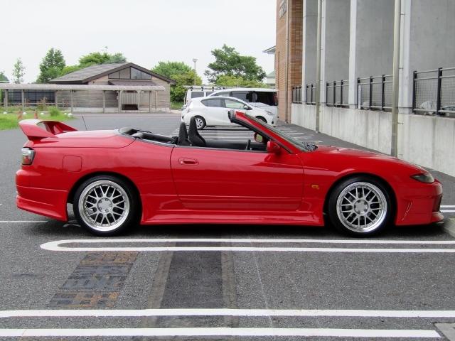即決!S15改 シルビア ヴァリエッタ SR20ターボ(E/g載替) 5速MT 社外マフラー 車高調 レカロシート 改造多数_画像6