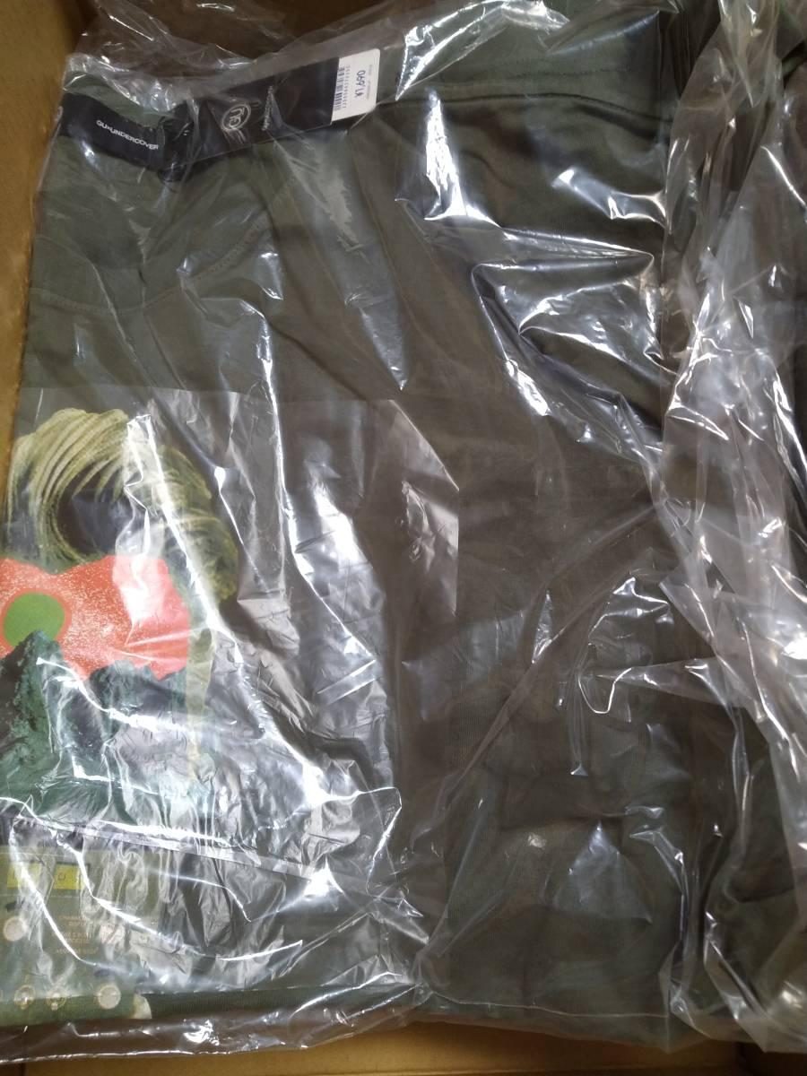 XXL 未使用品 UNDERCOVER GU アンダーカバー ビッググラフィックTシャツ XXLサイズ 5分袖 オリーブ カーキ グリーン 2_画像4