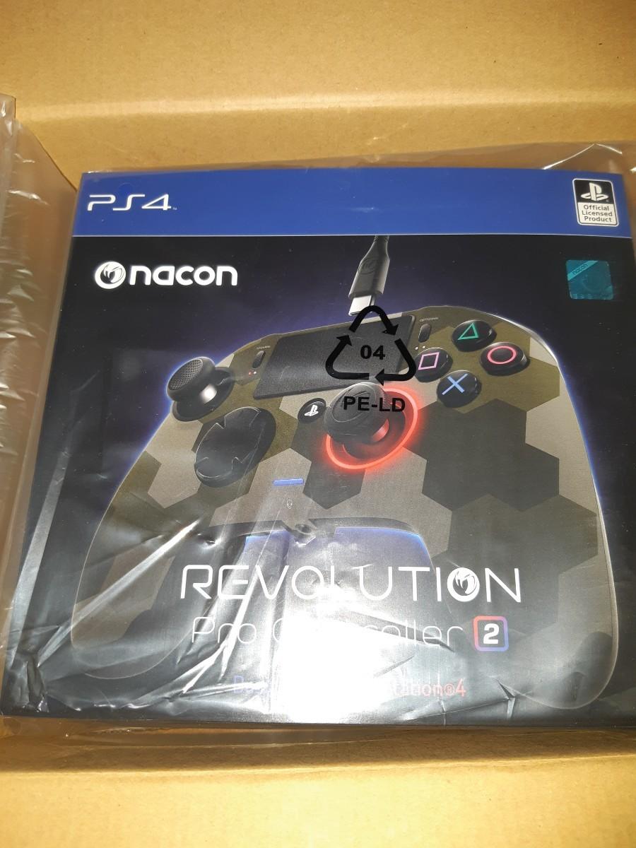 PS4 レボリューションプロコントローラー2 カモグレー nacon Revolution Pro Controller2 ナコン