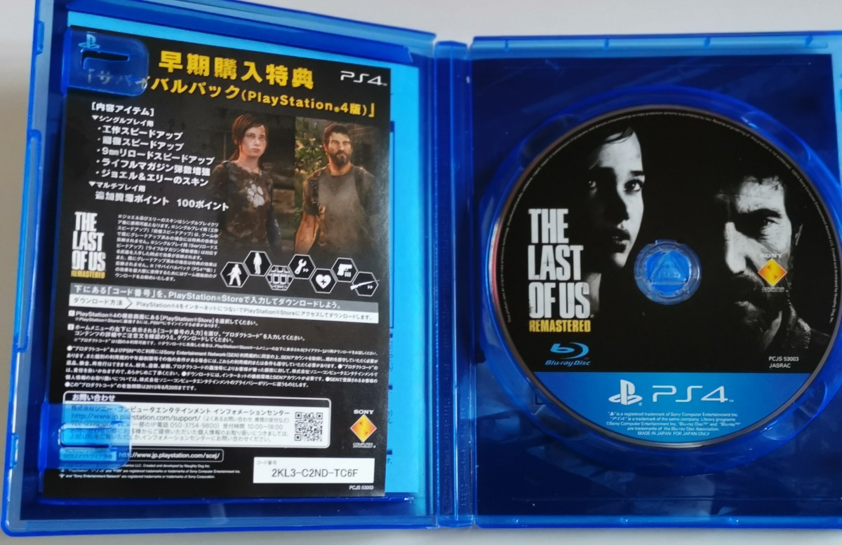 PS4ソフト THE LAST OF US