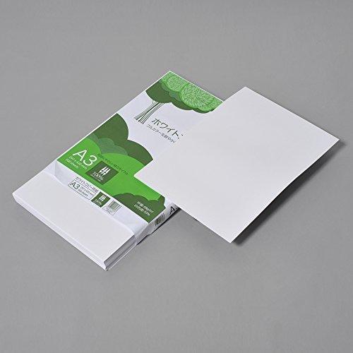 コピー用紙 A3 ホワイトコピー用紙 高白色 紙厚0.09mm 500枚 ATK902_画像2
