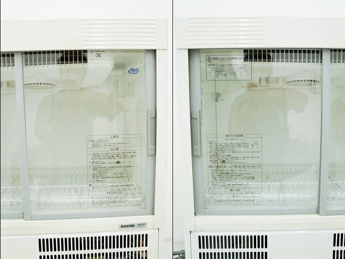 直接引取限定 美品 SANYO サンヨー 冷蔵ショーケース 業務用 保証付き_画像4