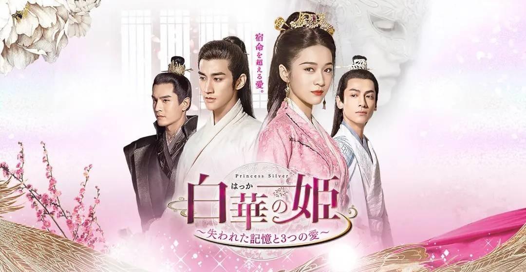 中国ドラマ DVD 白華の姫 ~失われた記憶と3つの愛~