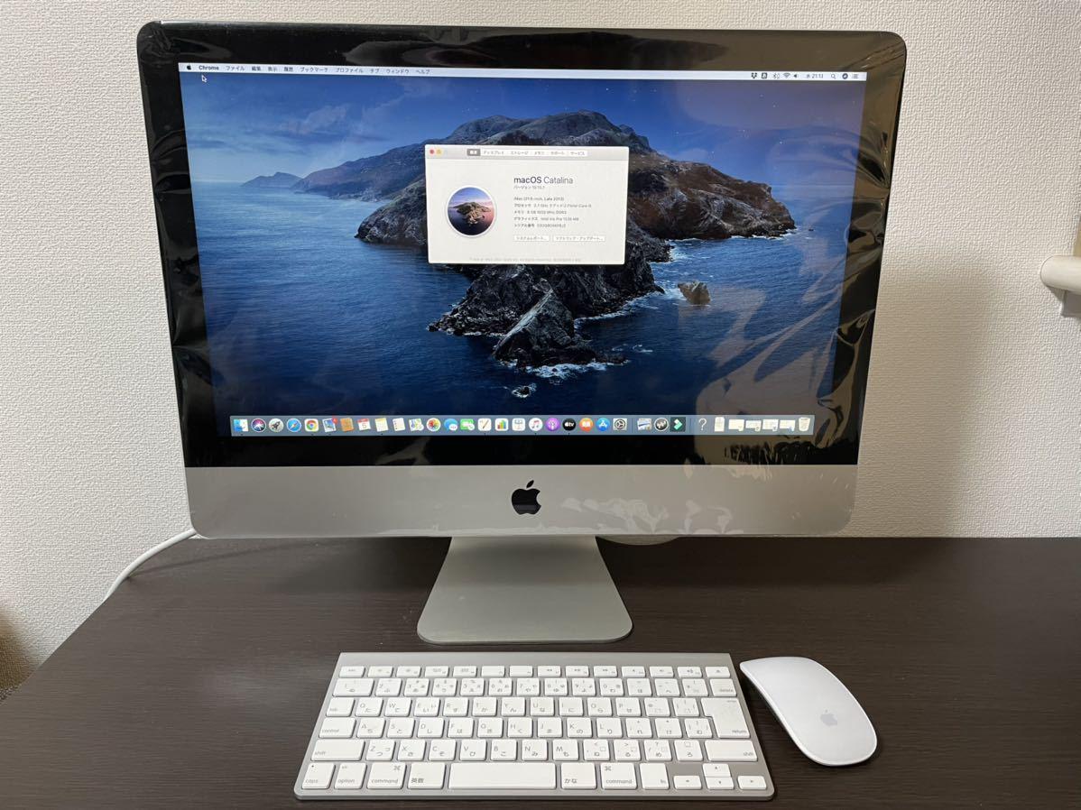 【超美品】iMac (21.5-inch, Late 2013)2.7GHz クアッドコアIntel Core i5/Mem 8GB/HDD 1TB