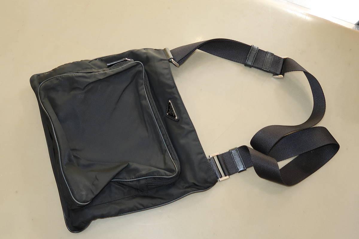 ♪♪ Нейлоновая сумка через плечо PRADA Prada ♪♪ Сумка, сумка и общая сумка через плечо Prada