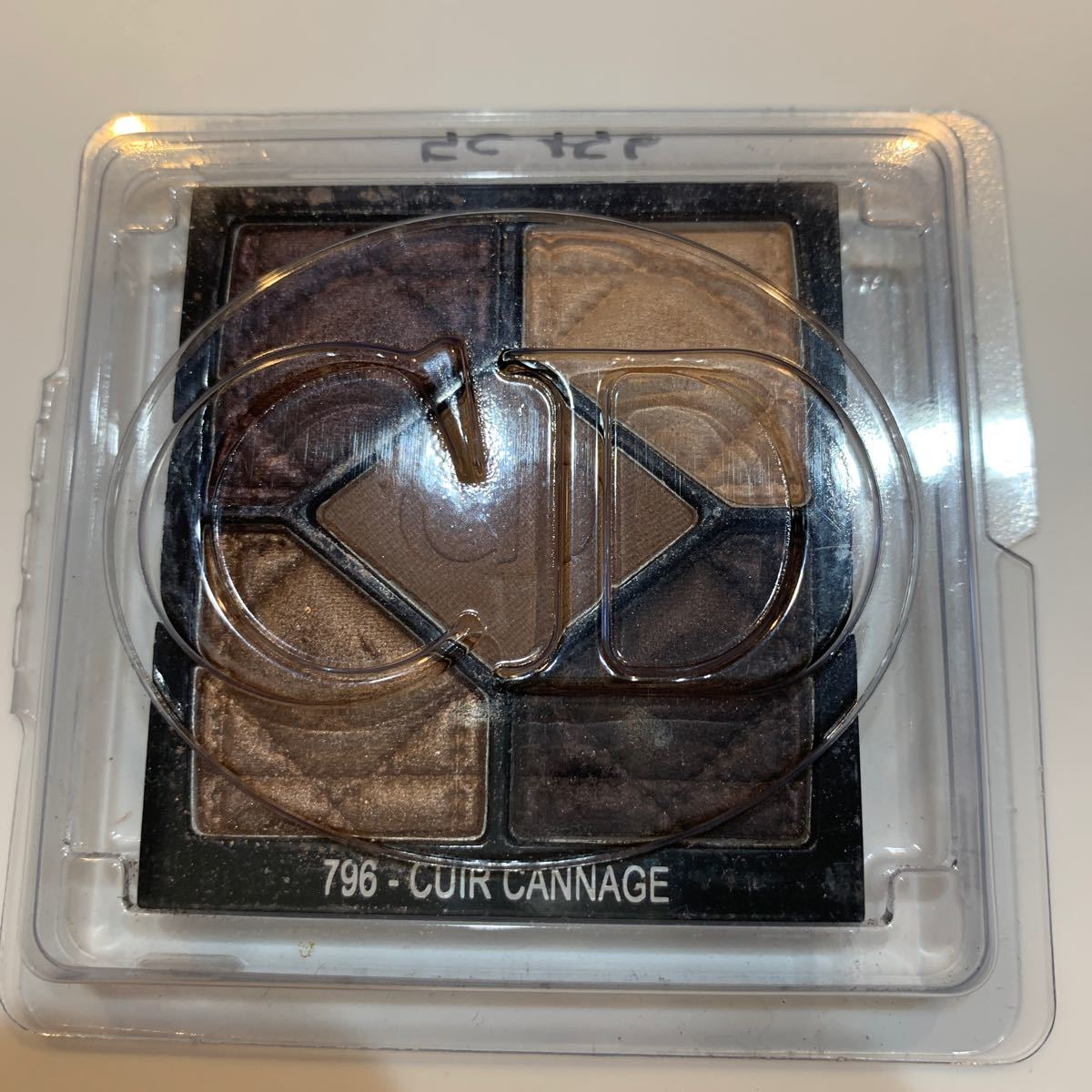 【ラスト】Dior DIOR ディオール  アイシャドウ サンククルール 796 CUIR CANNAGE ブラウン系
