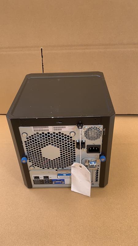 ジャンク現状BIOS起動済HP ProLiant MicroServer Gen8 Xeon E3-1220L V2 8GB HDD無し p2105081_画像5