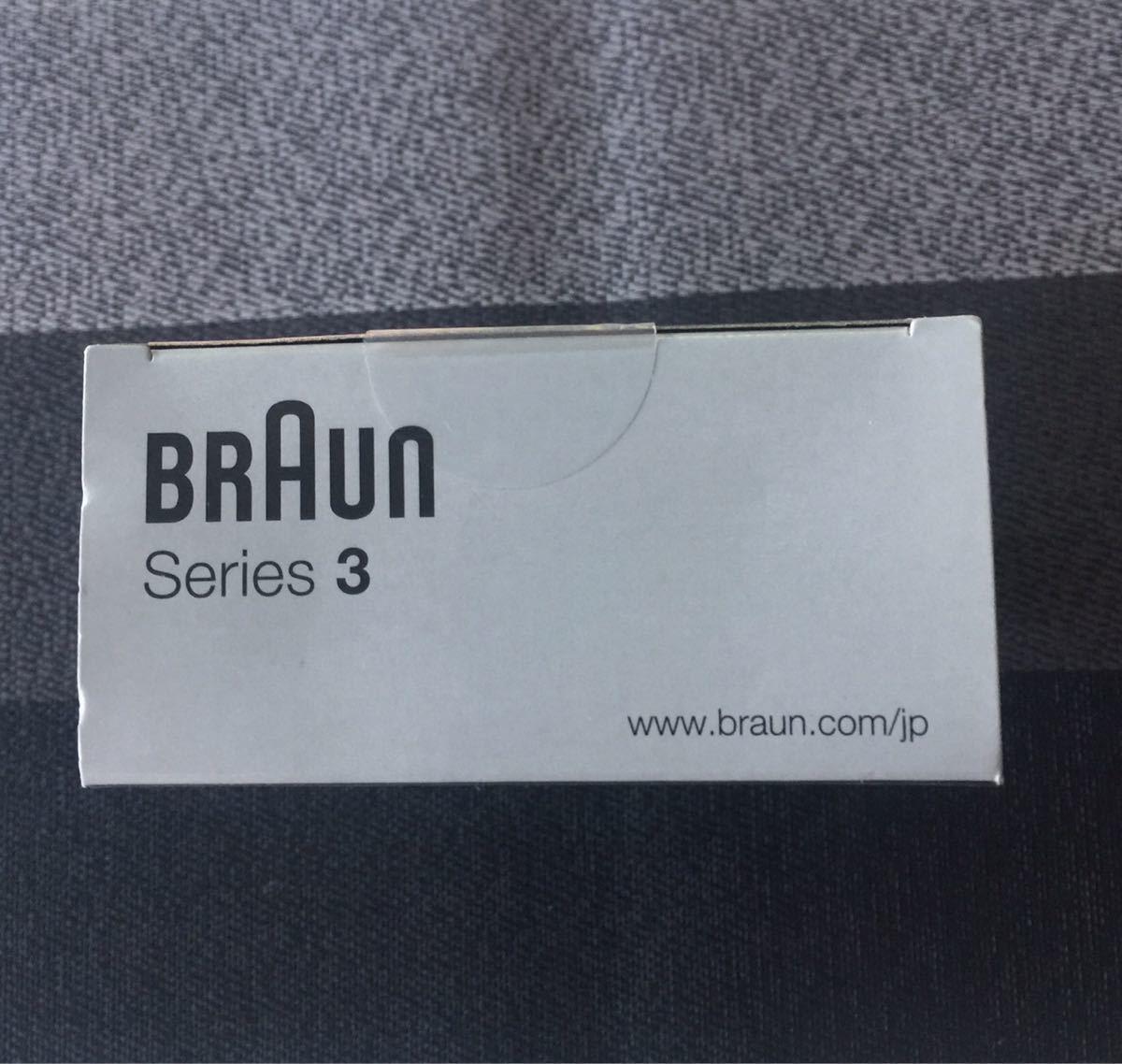 BRAUN  電気シェーバー  シリーズ3  300s