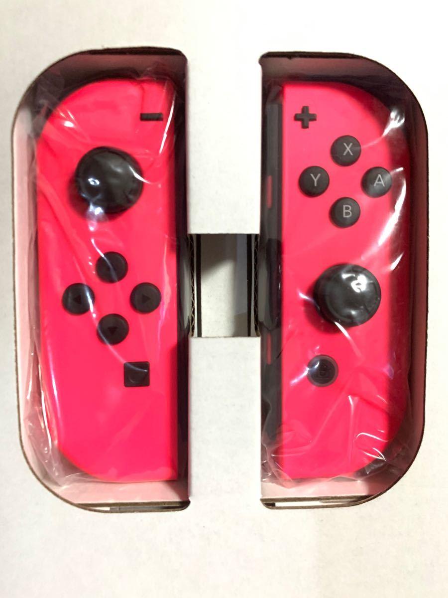 純正 Nintendo Switch 任天堂 スイッチ ジョイコン Joy-Con ネオンピンク